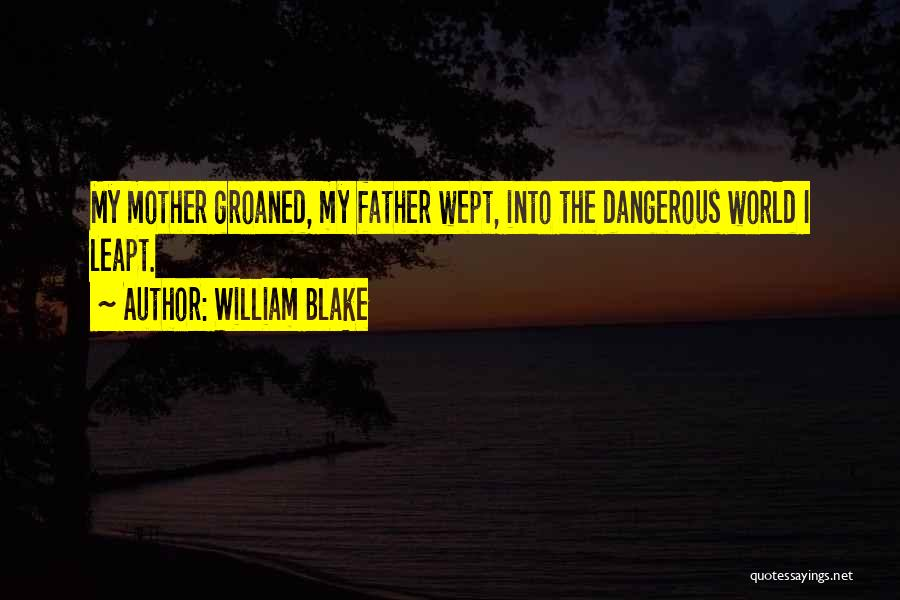 Father On His Birthday Quotes By William Blake