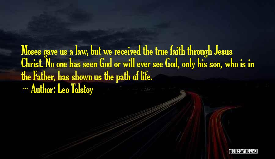 Father Son Life Quotes By Leo Tolstoy