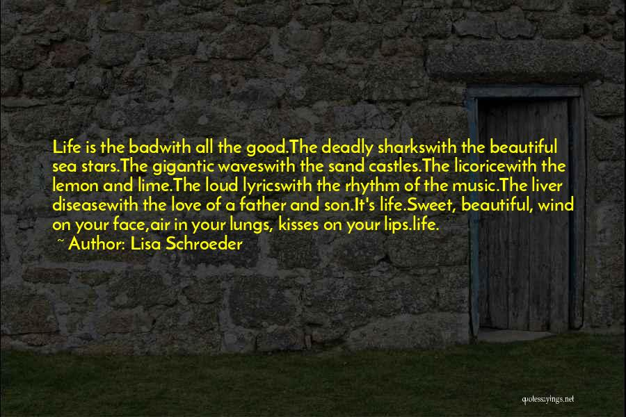 Father Son Life Quotes By Lisa Schroeder