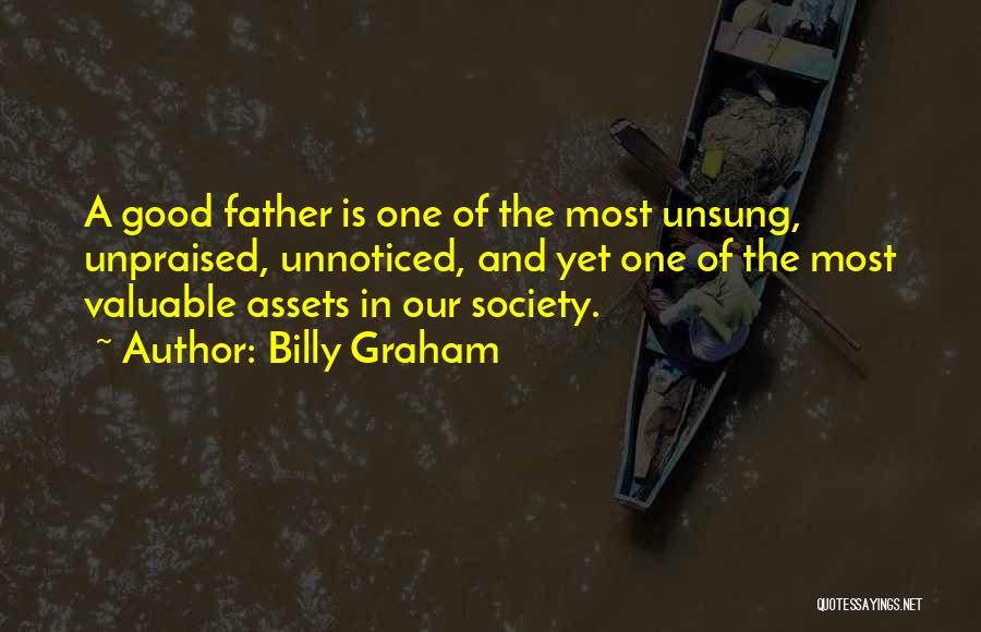 Fatherhood Inspirational Quotes By Billy Graham