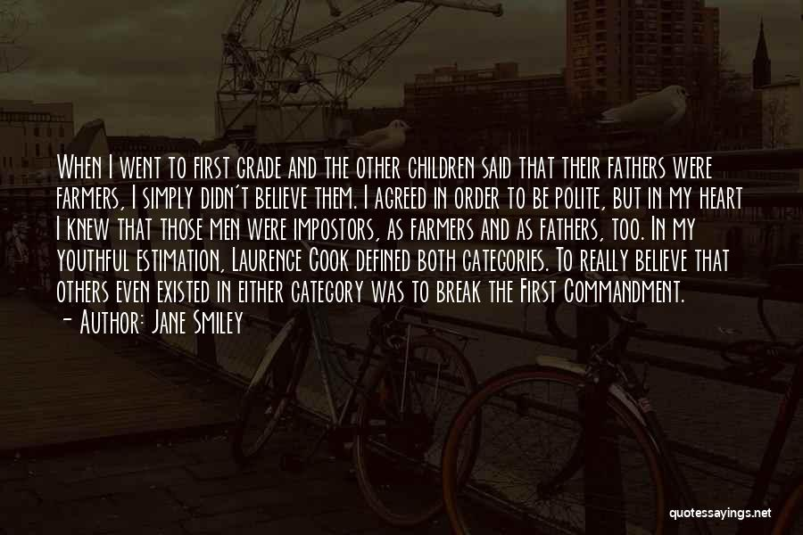 Fathers Daughters Quotes By Jane Smiley