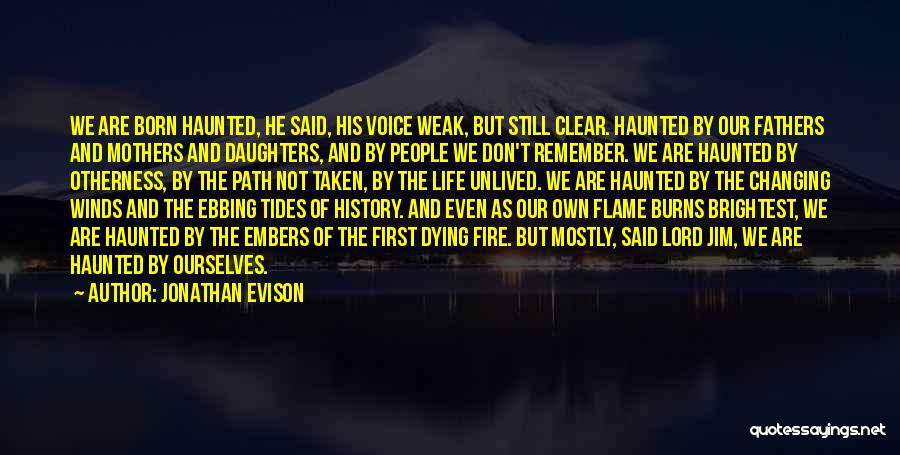 Fathers Daughters Quotes By Jonathan Evison