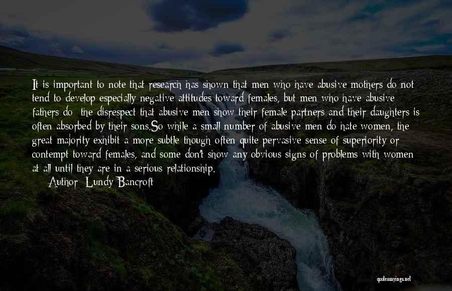 Fathers Daughters Quotes By Lundy Bancroft