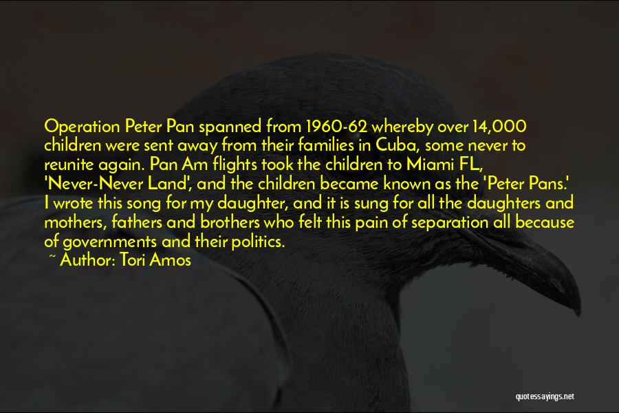 Fathers Daughters Quotes By Tori Amos