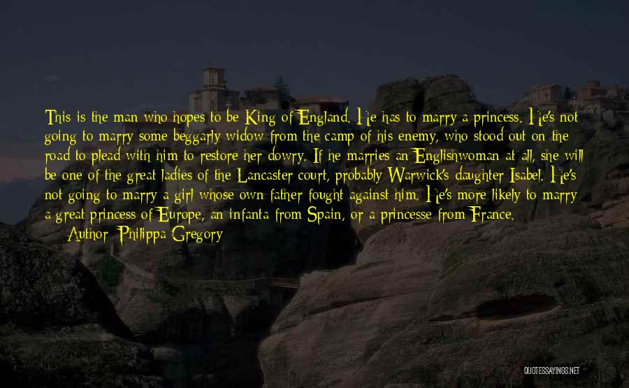 Father's Love To Her Daughter Quotes By Philippa Gregory