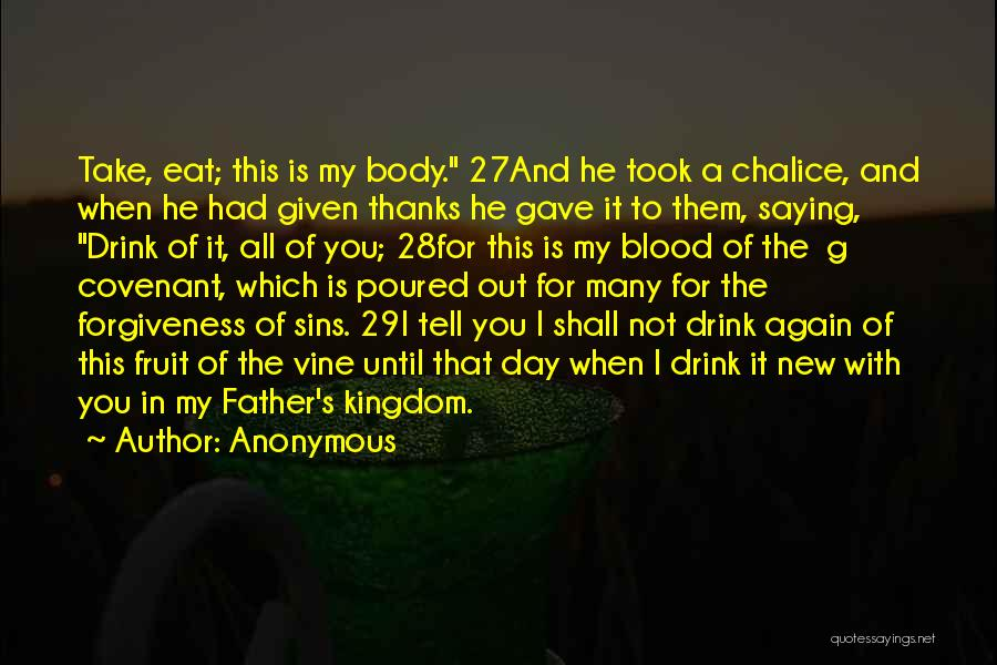 Father's Sins Quotes By Anonymous