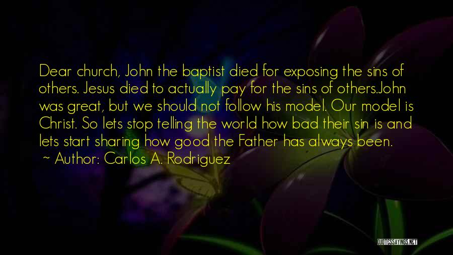 Father's Sins Quotes By Carlos A. Rodriguez