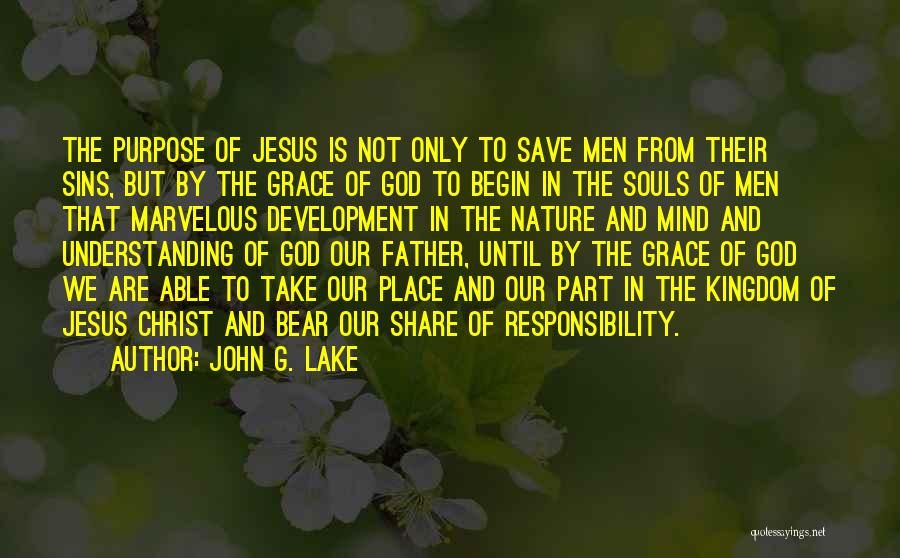 Father's Sins Quotes By John G. Lake