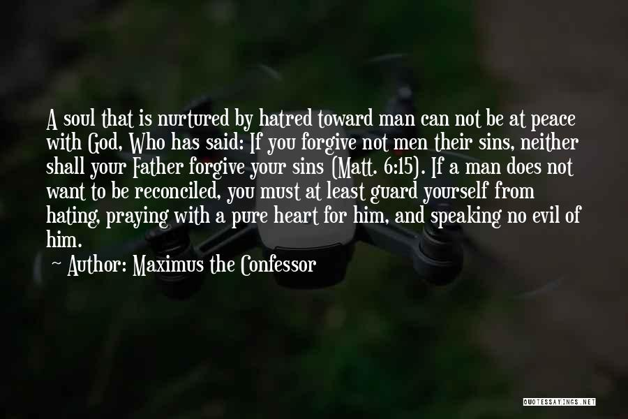 Father's Sins Quotes By Maximus The Confessor