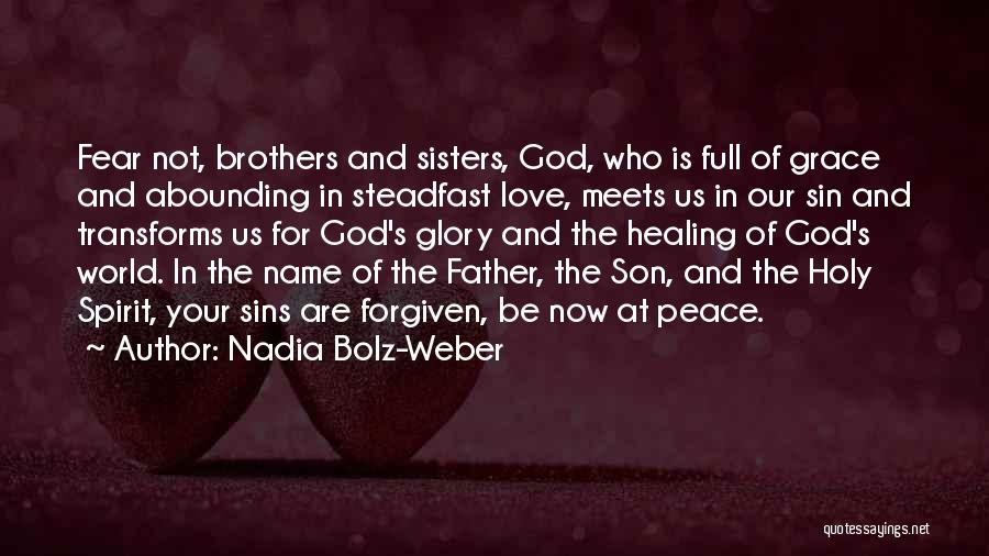 Father's Sins Quotes By Nadia Bolz-Weber