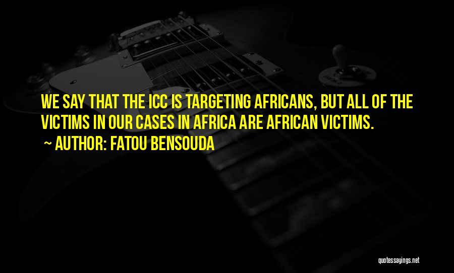 Fatou Bensouda Quotes 919267