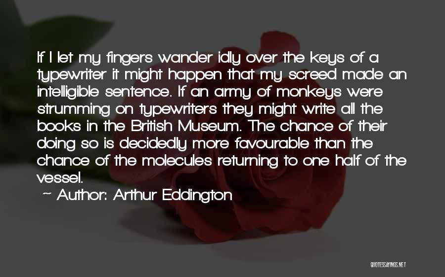 Favourable Quotes By Arthur Eddington