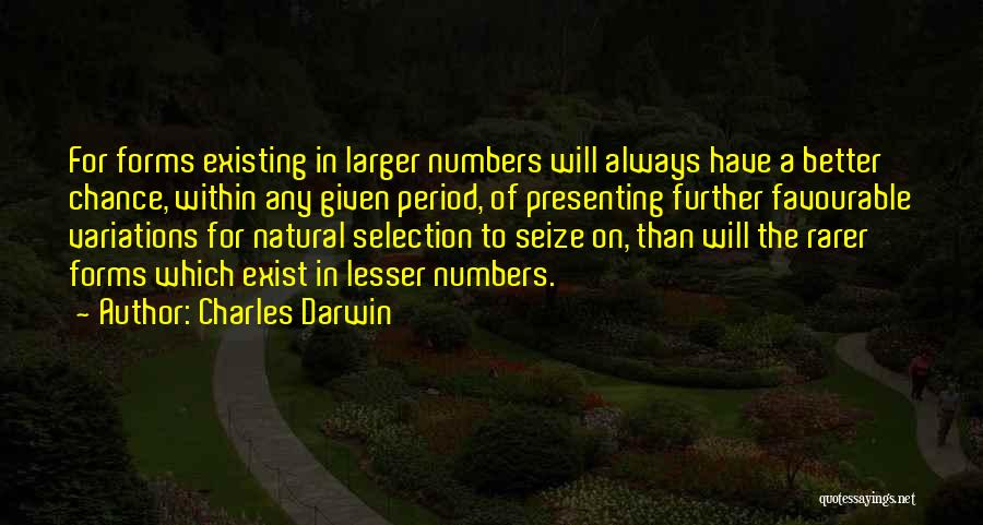Favourable Quotes By Charles Darwin