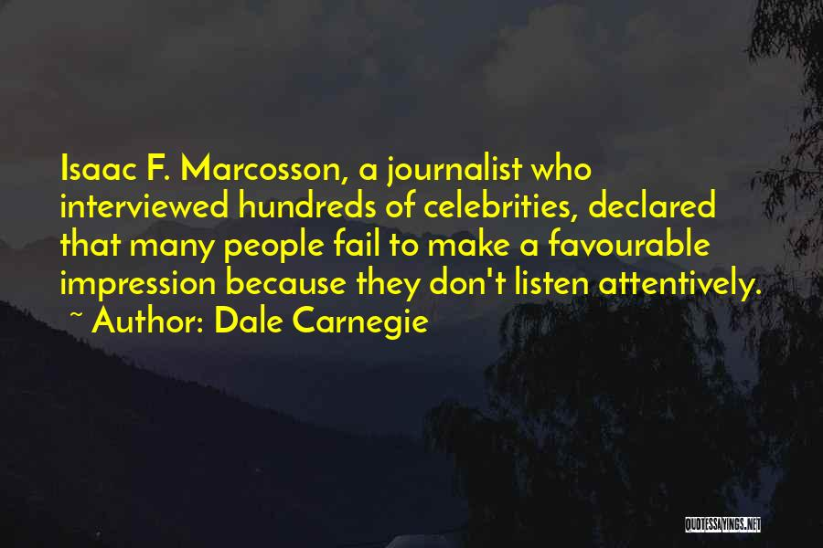 Favourable Quotes By Dale Carnegie