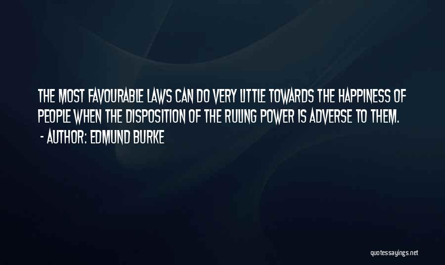 Favourable Quotes By Edmund Burke
