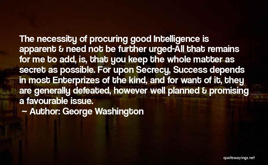 Favourable Quotes By George Washington