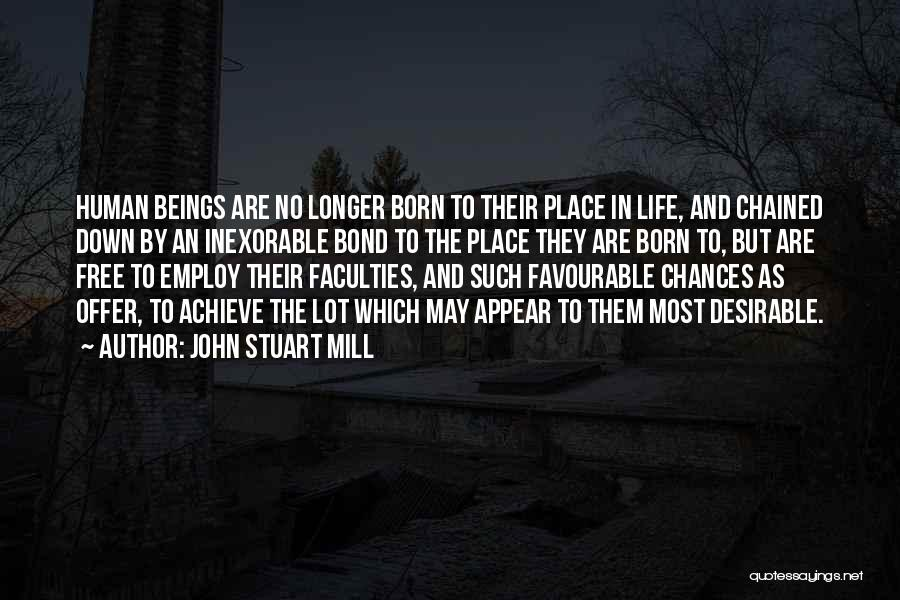 Favourable Quotes By John Stuart Mill