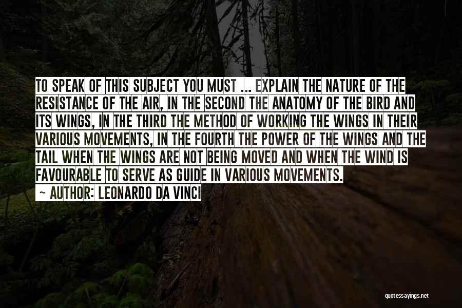 Favourable Quotes By Leonardo Da Vinci