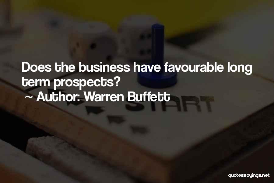 Favourable Quotes By Warren Buffett