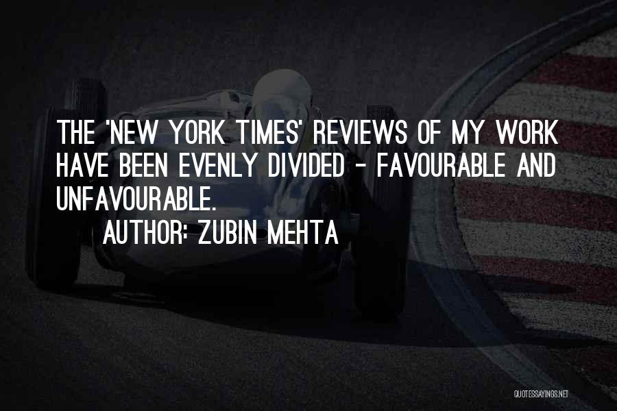 Favourable Quotes By Zubin Mehta