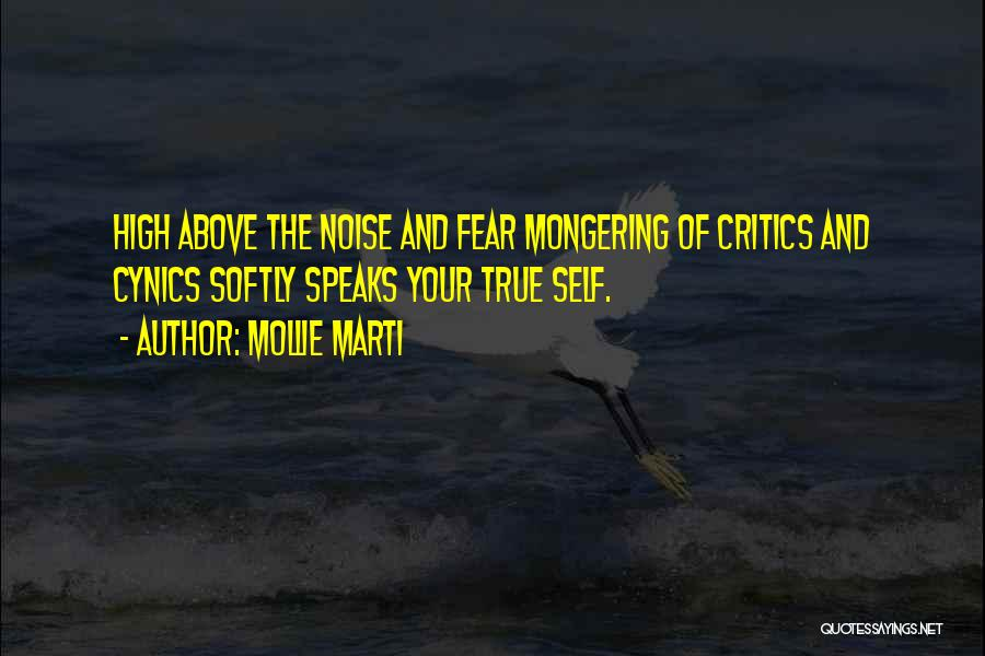 Fear And Leadership Quotes By Mollie Marti