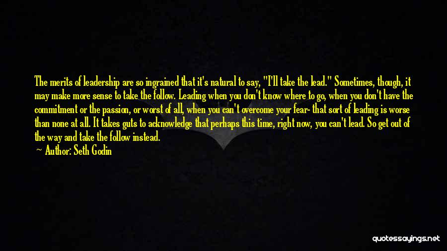 Fear And Leadership Quotes By Seth Godin