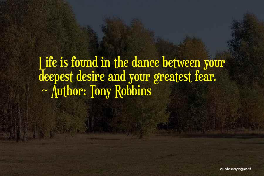 Fear And Leadership Quotes By Tony Robbins