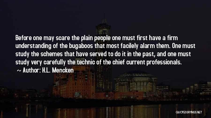 Fear And Politics Quotes By H.L. Mencken