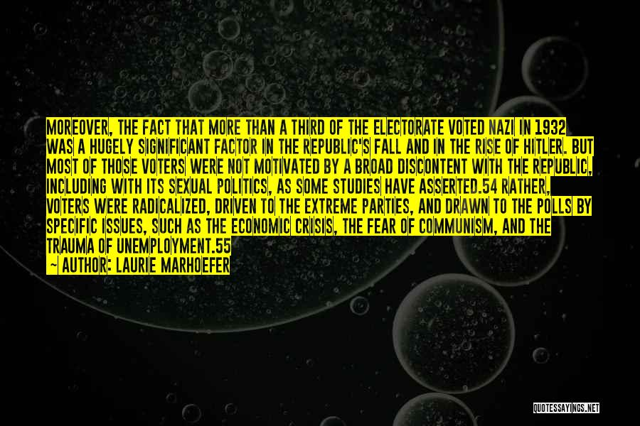 Fear And Politics Quotes By Laurie Marhoefer