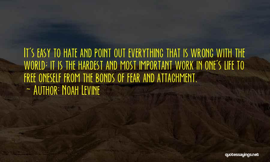 Fear And Politics Quotes By Noah Levine