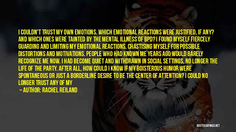 Fear And Politics Quotes By Rachel Reiland