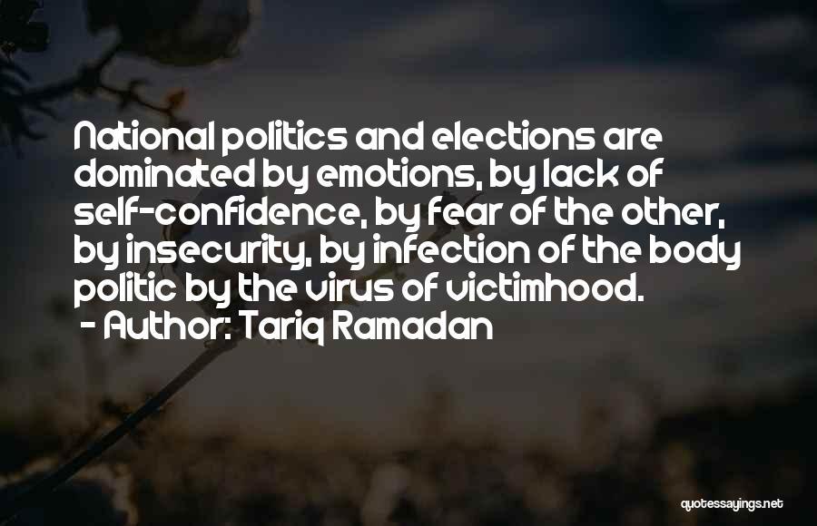 Fear And Politics Quotes By Tariq Ramadan