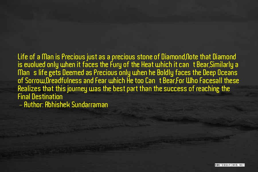 Fear And Success Quotes By Abhishek Sundarraman