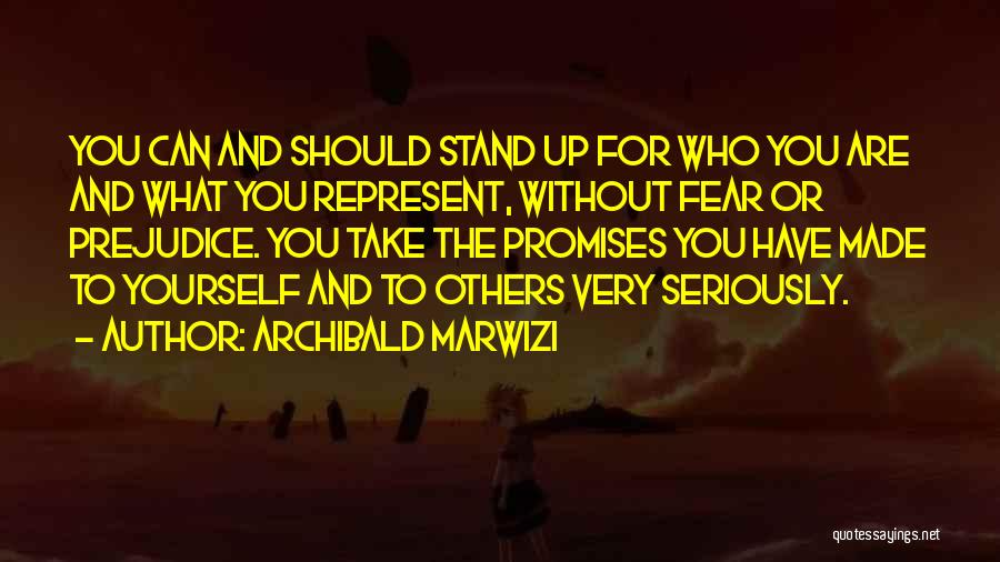 Fear And Success Quotes By Archibald Marwizi