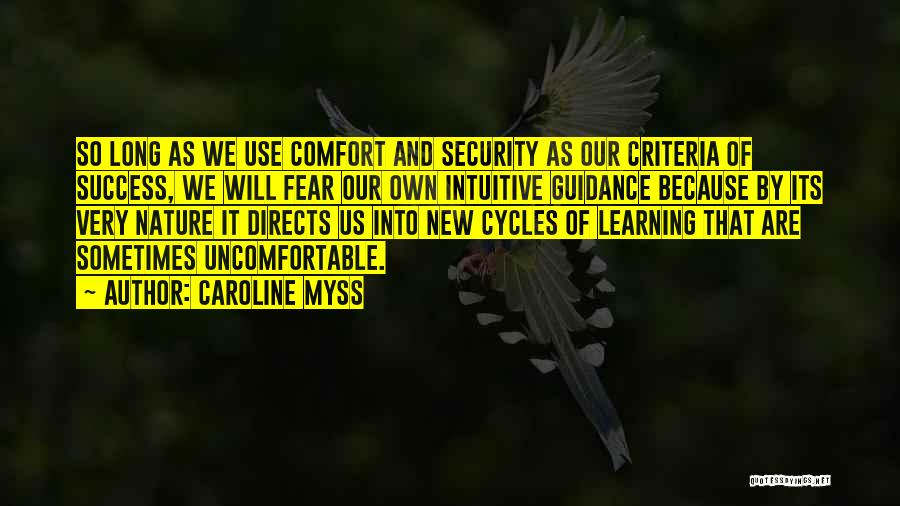 Fear And Success Quotes By Caroline Myss