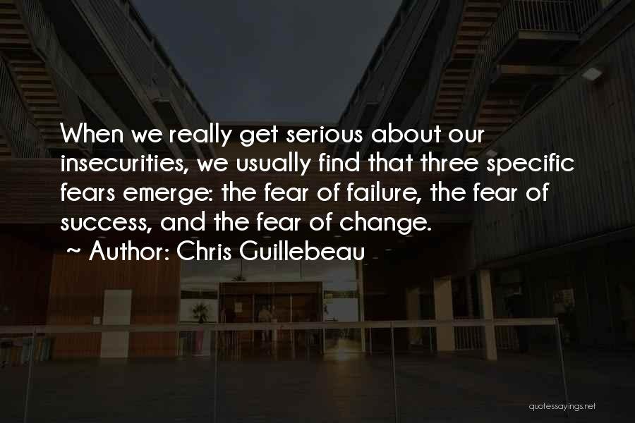 Fear And Success Quotes By Chris Guillebeau