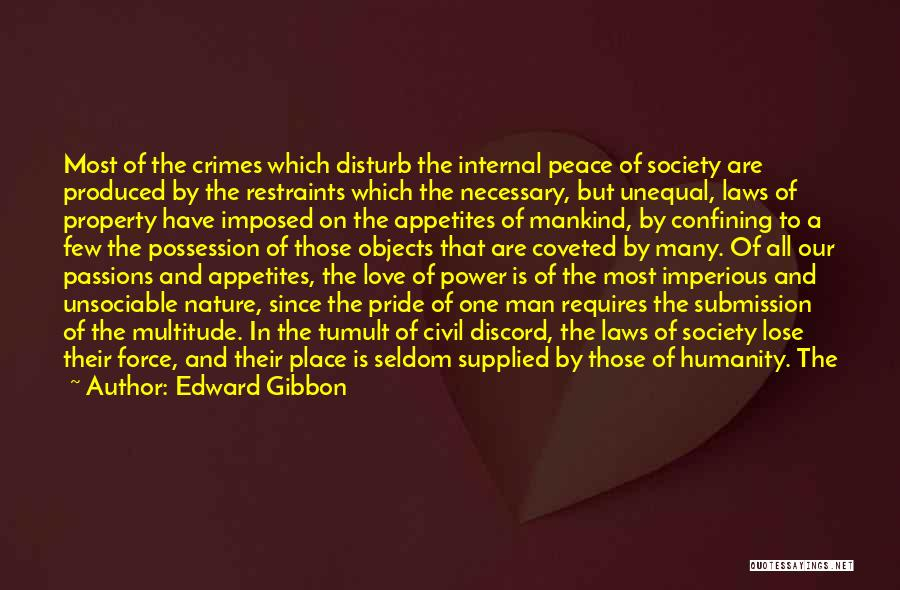 Fear And Success Quotes By Edward Gibbon