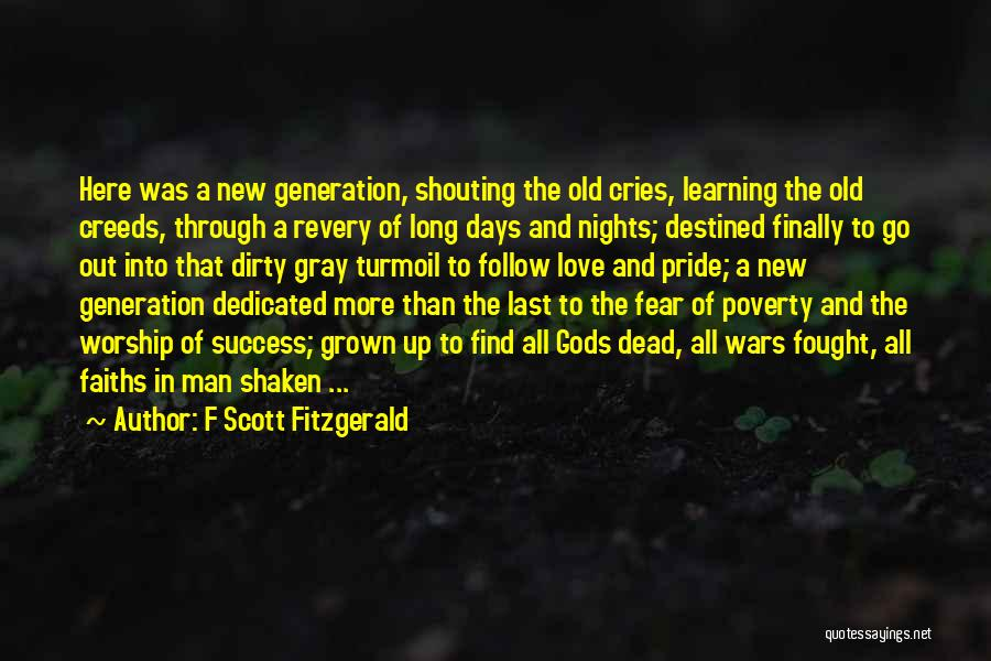 Fear And Success Quotes By F Scott Fitzgerald