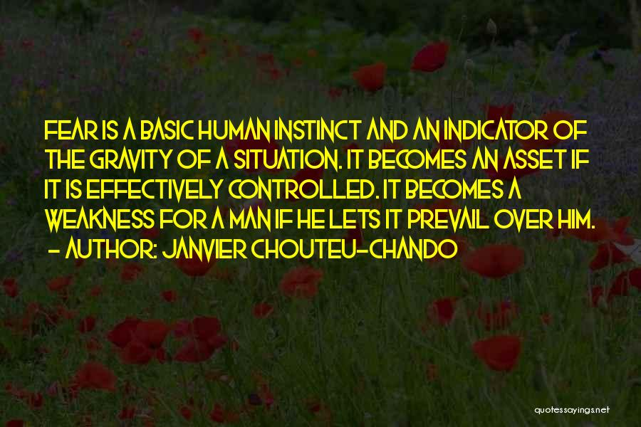 Fear And Success Quotes By Janvier Chouteu-Chando