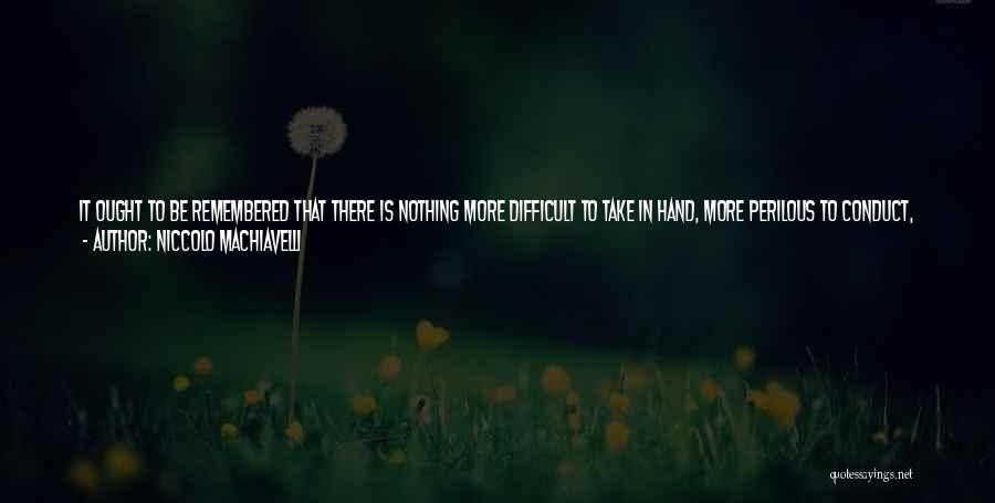 Fear And Success Quotes By Niccolo Machiavelli