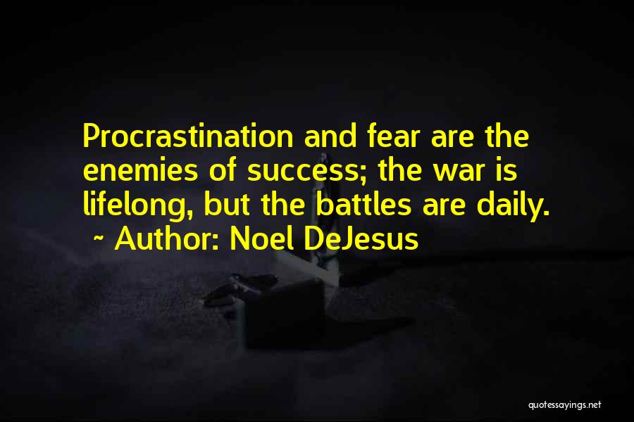 Fear And Success Quotes By Noel DeJesus
