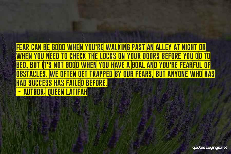Fear And Success Quotes By Queen Latifah