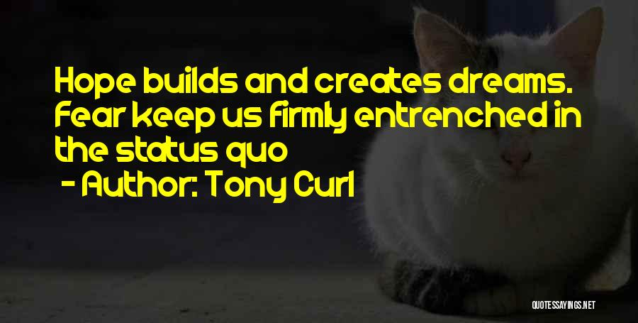 Fear And Success Quotes By Tony Curl