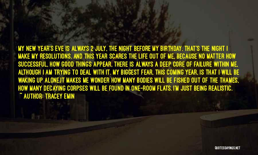 Fear And Success Quotes By Tracey Emin