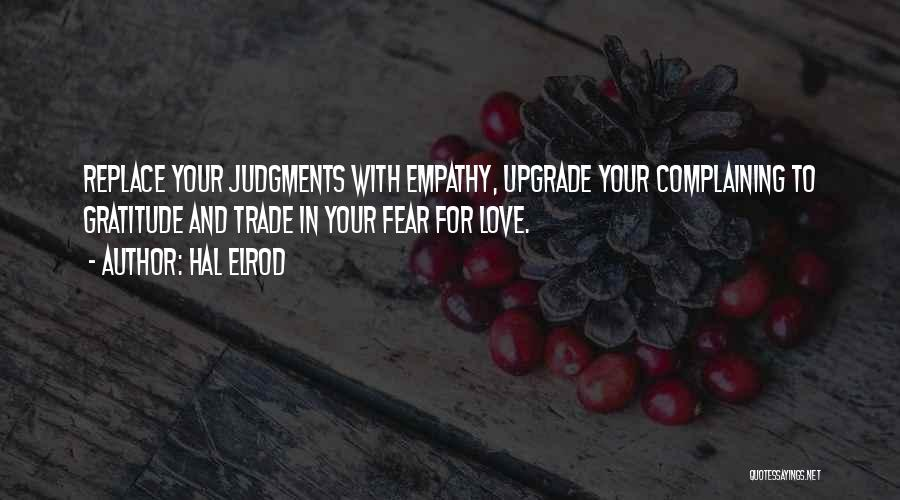 Fear Love Quotes By Hal Elrod