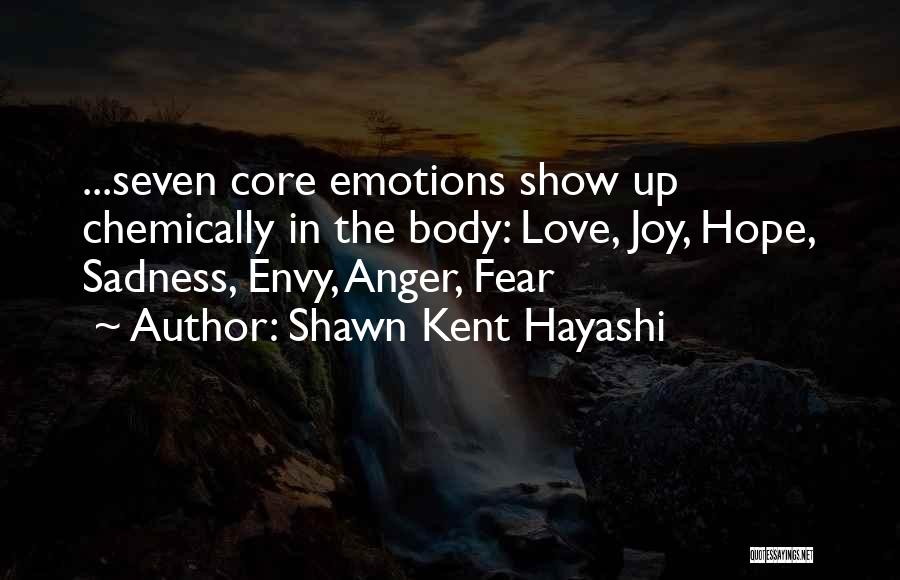 Fear Love Quotes By Shawn Kent Hayashi