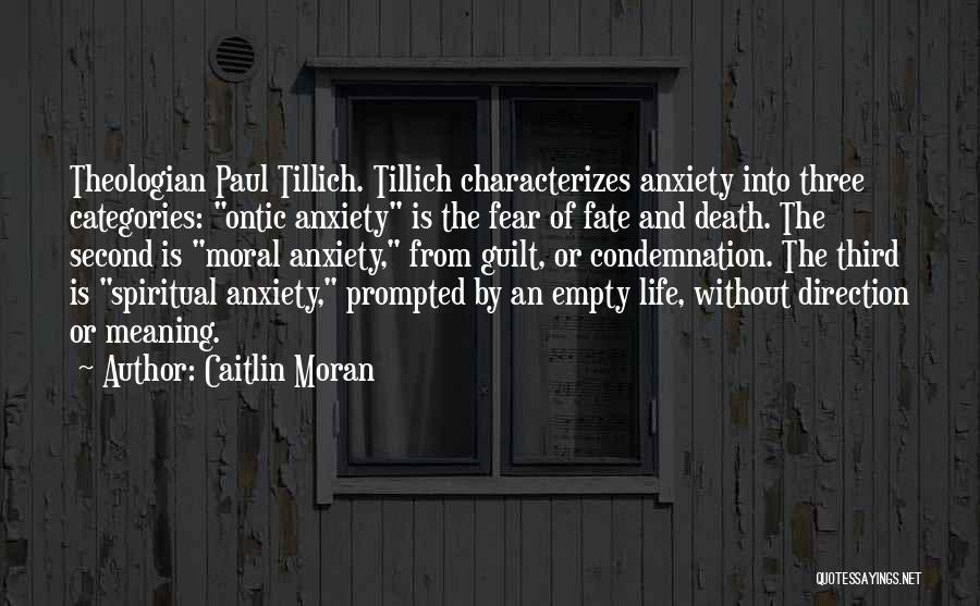 Fear Of Death Anxiety Quotes By Caitlin Moran