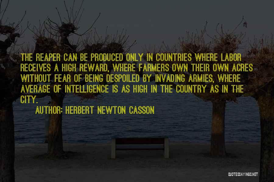 Fear The Reaper Quotes By Herbert Newton Casson