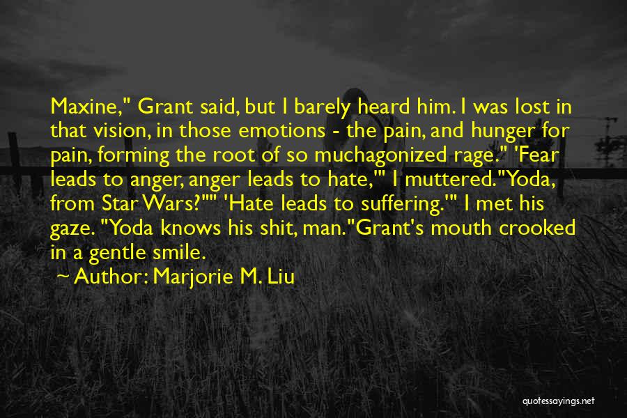 Fear The Reaper Quotes By Marjorie M. Liu