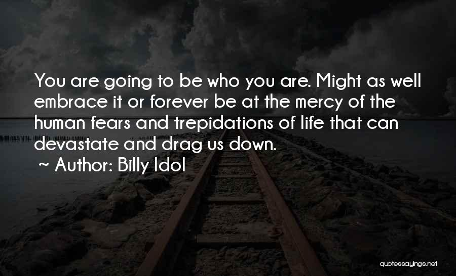 Fears Of Life Quotes By Billy Idol